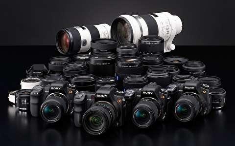 آموزش دوربین دیاسالآر: انواع لنزها و کارکردشان