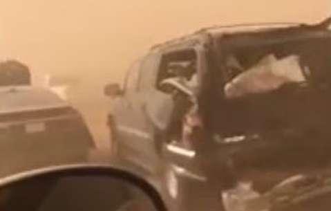طوفان آخرالزمانی در تگزاس