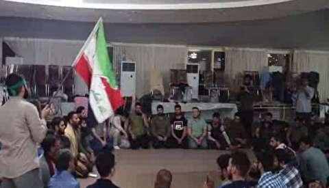 سرودخوانی جهادگران عراقی در پلدختر