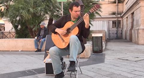 اجرای آستوریاس در خیابانهای پاریس