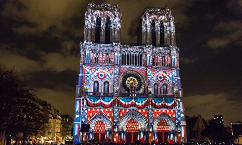 کلیسای نوتردام پاریس در قاب 4K