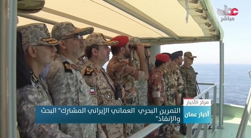 رزمایش مشترک امداد و نجات دریایی ایران و عمان
