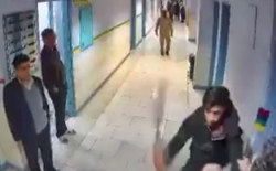 قمهکشی یکی از اوباش در بیمارستان بهشتی