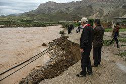 وضعیت سیلاب پلدختر به روایت تصویر