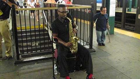 سولوی ساکسیفون در نیویورک