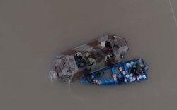 امدادرسانی نفربرهای ارتش به مردم سیلزده