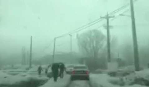 بارش برف در نقاط متعددی از ایران