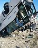 واژگونی مرگبار اتوبوس در آزادراه زنجان-تبریز/ ۱۰ جان باخته و ۱۱ مصدوم تا این لحظه