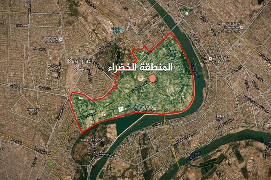 منطقه سبز بغداد کجاست؟