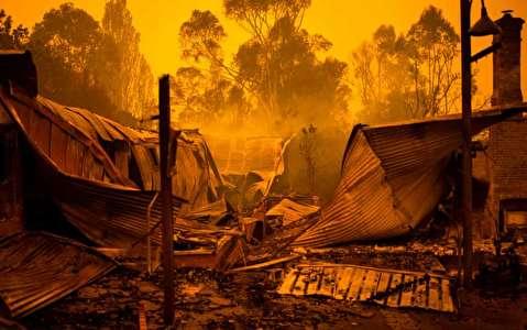 در میان آتشسوزی گسترده استرالیا