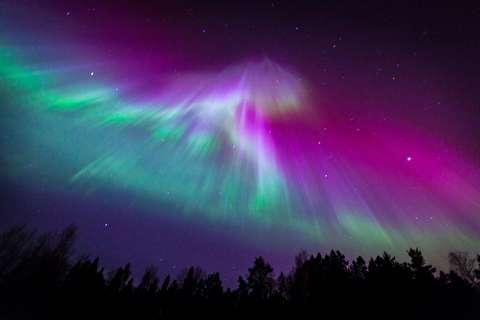 زندگی در ترومسو زیر نور شفق قطبی