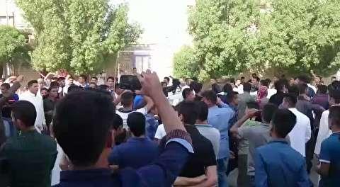 عزاداری اعراب خوزستان برای سردار سلیمانی