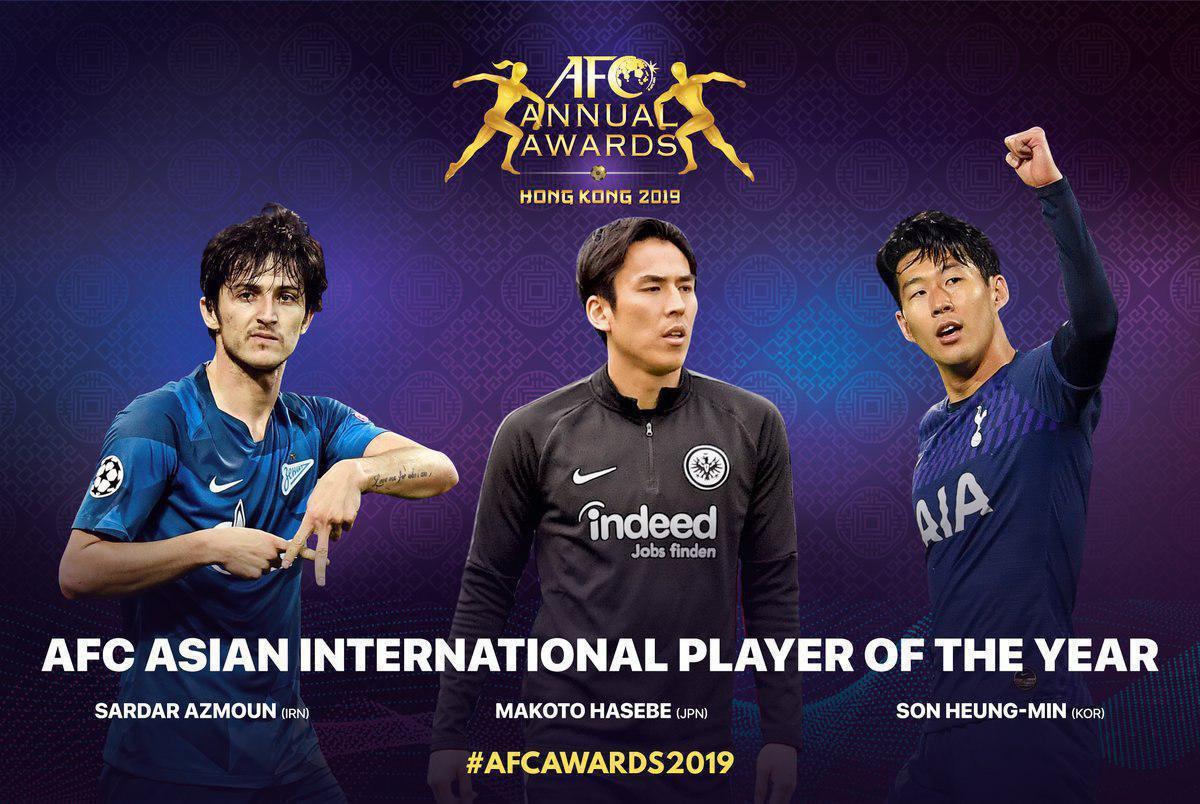 فقط یک ایرانی بین ۲۴ بازیکن برتر آسیایی سال ۲۰۱۹