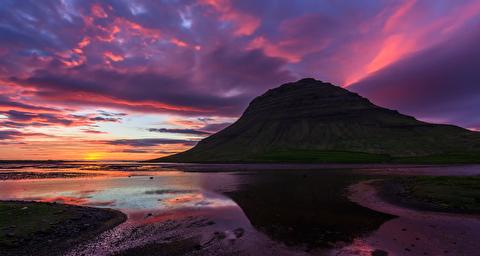 طبیعت ایسلند از نمایی دیگر
