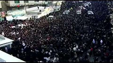تشییع پیکر سردار سلیمانی در کاظمین