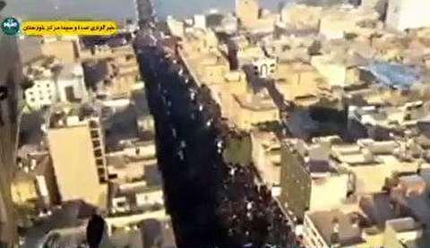 تشییع میلیونی پیکر سردار سلیمانی در اهواز