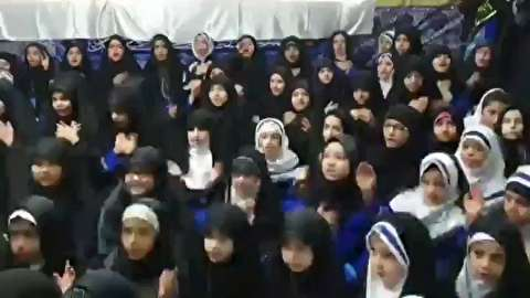 عزاداری برای سردار سلیمانی در مدارس