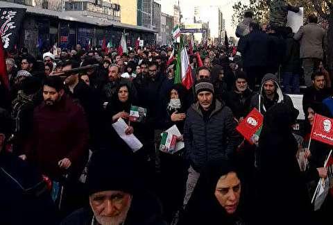 بزرگترین تجمع 25 سال اخیر ایران