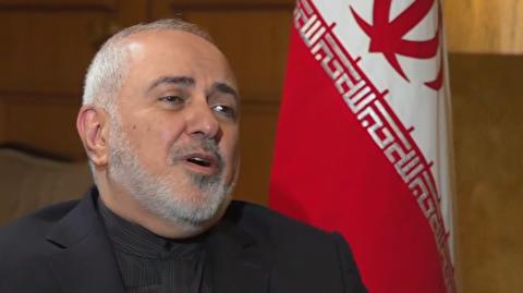 ظریف: معادل حمله نظامی پاسخ میدهیم