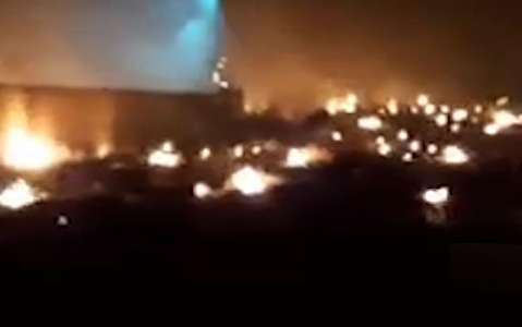 تکه تکه شدن هواپیمای اوکراین پس از سقوط