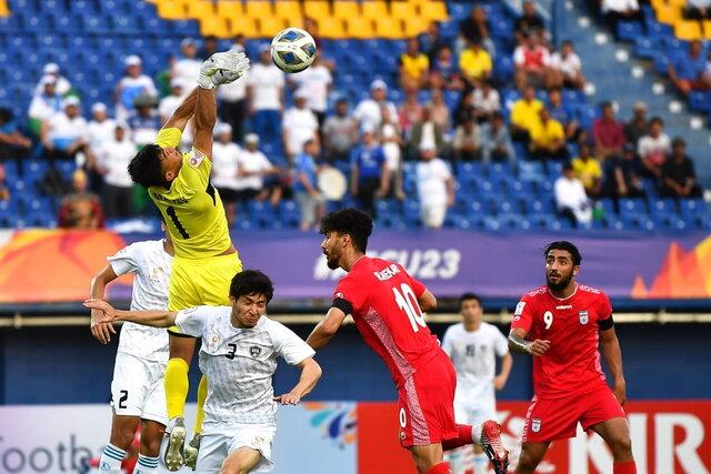 تساوی امیدهای ایران مقابل قهرمان آسیا دراولین گام گزینشی المپیک