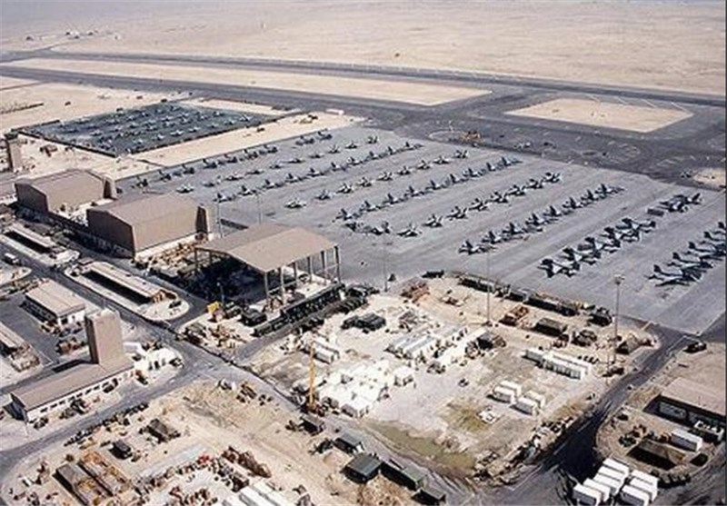 همه پایگاه های نظامی آمریکا در منطقه ژئوپلیتیکی جنوب غرب آسیا / هزاران سرباز و تریلیون ها دلار سرمایه آمریکایی زیر تیغ ایران