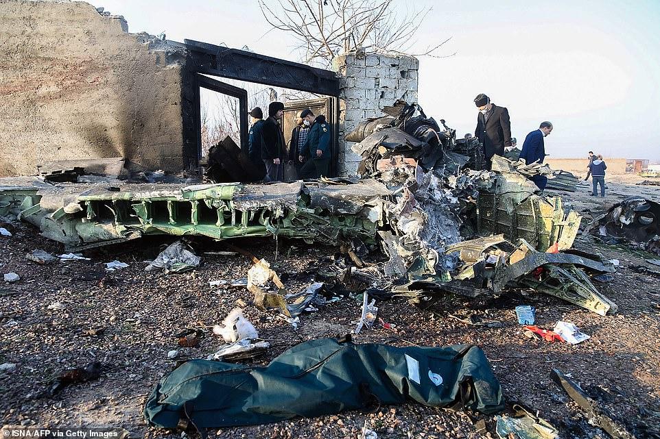سرعت روند بررسی سانحه هواپیمای اوکراین بالاست