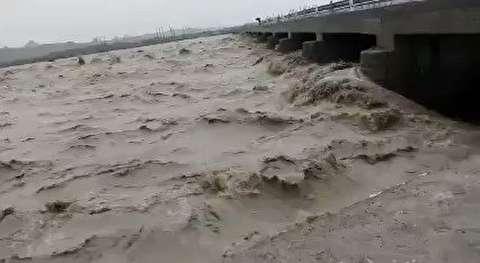 طغیان رودخانه بنت سیستان و بلوچستان!