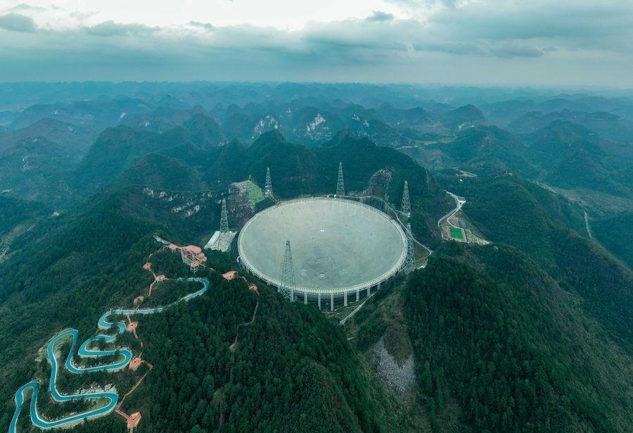 بهره برداری بزرگترین تلسکوپ رادیویی جهان در چین