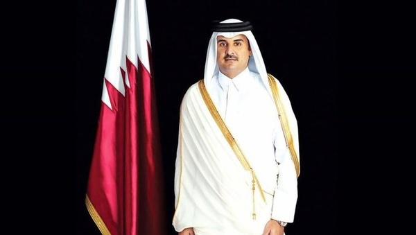 امیر قطر به تهران آمد