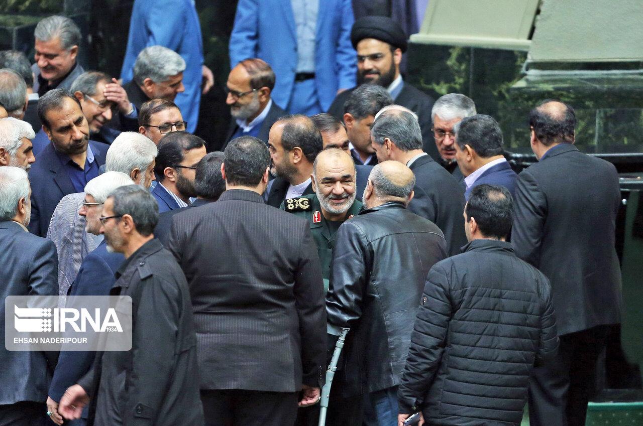 پخش سخنان سردار سلامی در مجلس از صدا و سیما