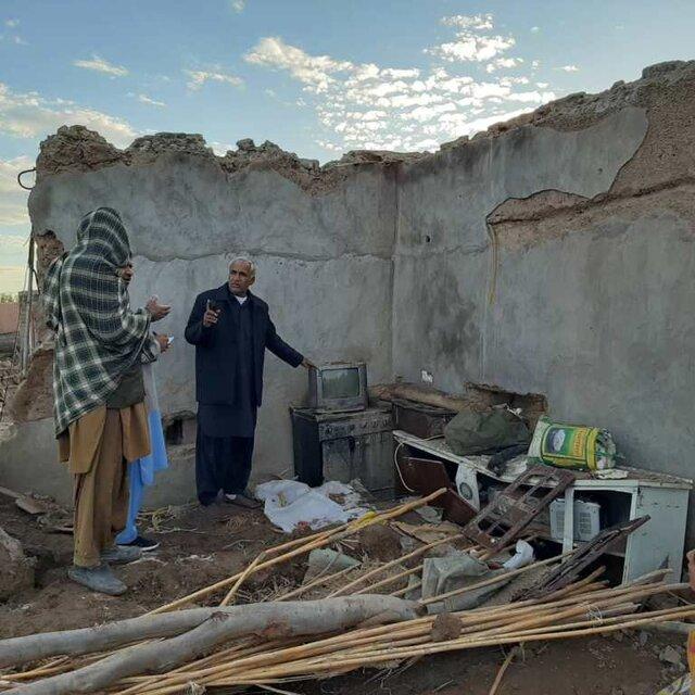 عمق فاجعه و خسارات مردم دلگان در سیل اخیر بالاست