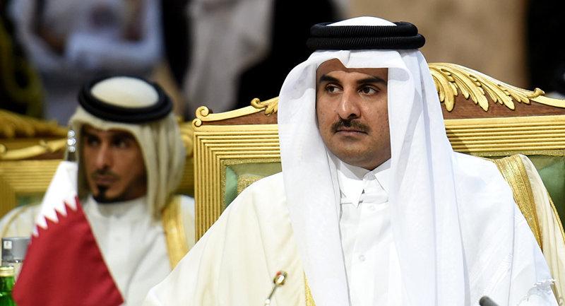 ماشین تشریفات برای امیر قطر در تهران