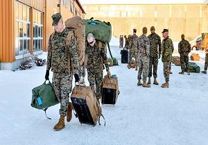 خروج نیروهای آمریکا از رزمایش زمستانی اروپا