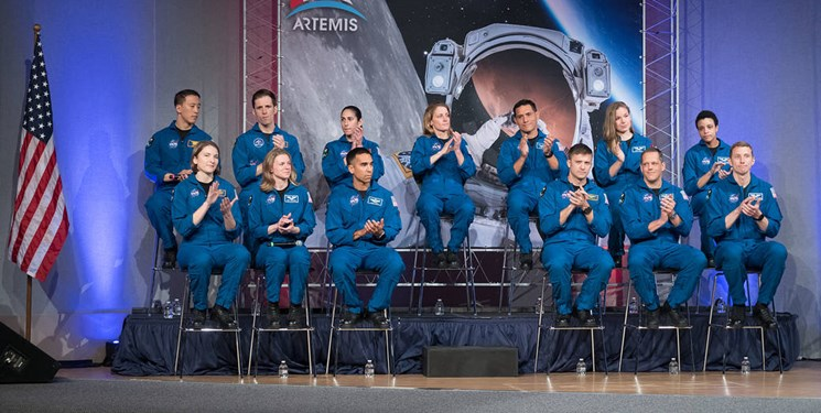 عکس روز ناسا از فضانوردان جدید