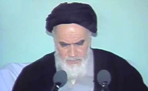 هشدار امام خمینی درباره عدم پشتیبانی ملت