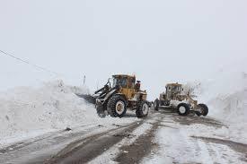 مسدود شدن ۱۵۶ مسیر روستایی در زنجان