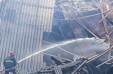 آتش سوزی سینمای هتل رامسر