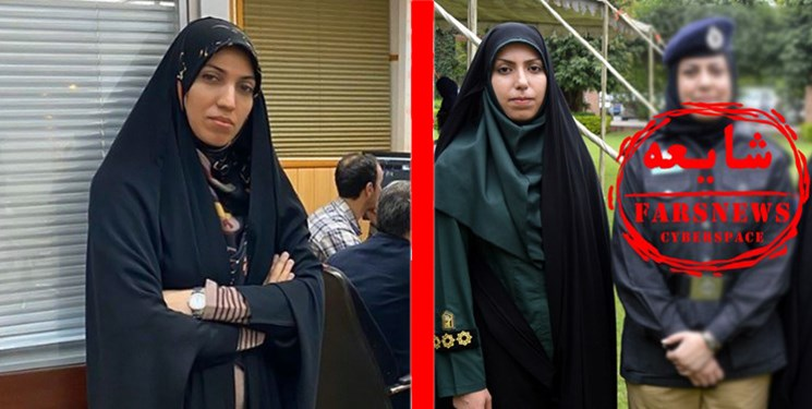 خبرنگار صداوسیما، کارمند ناجا نیست