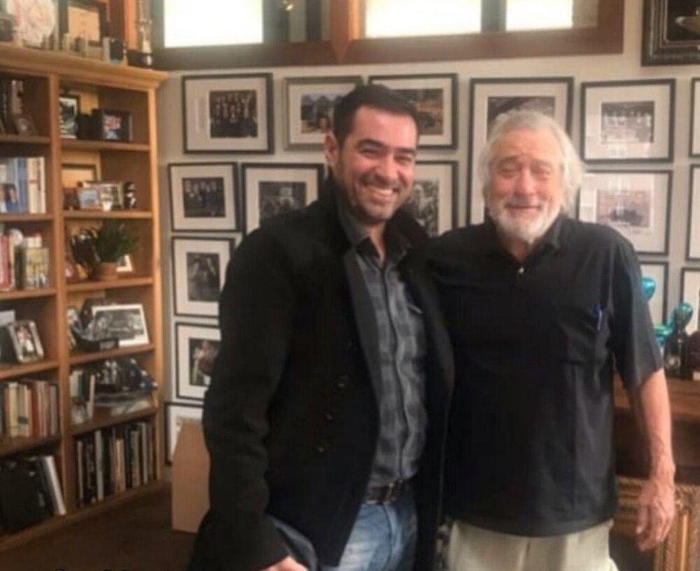 شهاب حسینی در کنار رابرت دنیرو