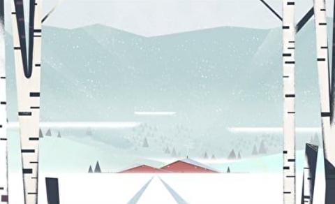 انیمیشن کوتاه یک روز بیشتر برف میبارد