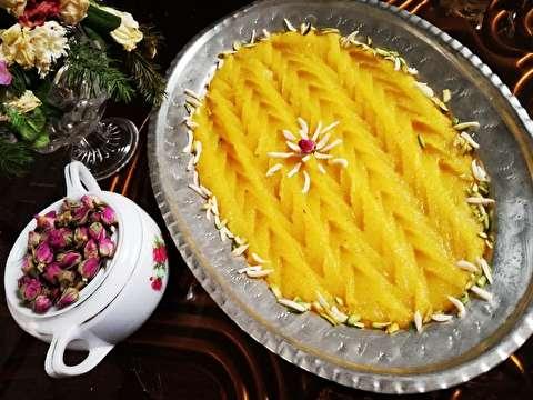 دستور پخت حلوای کاسه شیراز