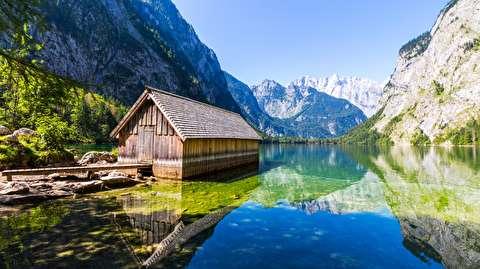 دریاچه کونیگسی از نمای نزدیک