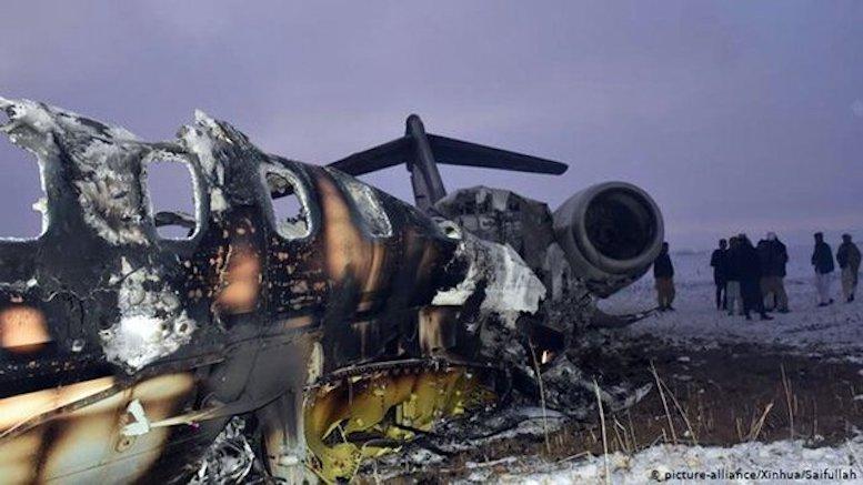 سرنشینان هواپیمای جاسوسی آمریکا در اسارت طالباناند