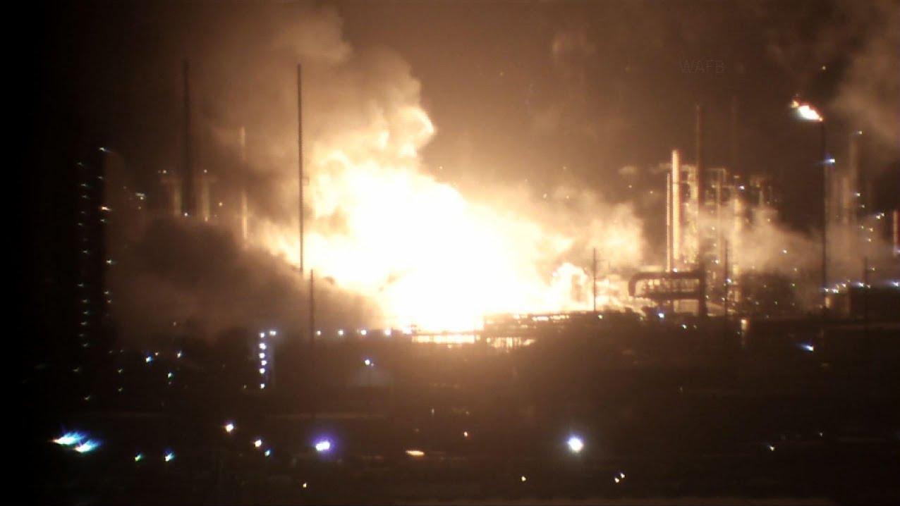 انفجار مهیب در یکی از پالایشگاههای آمریکا