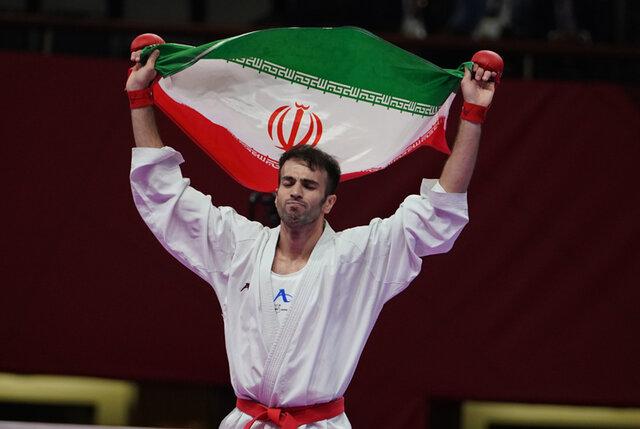 عسگری نخستین سهمیه کاراته ایران در المپیک را گرفت