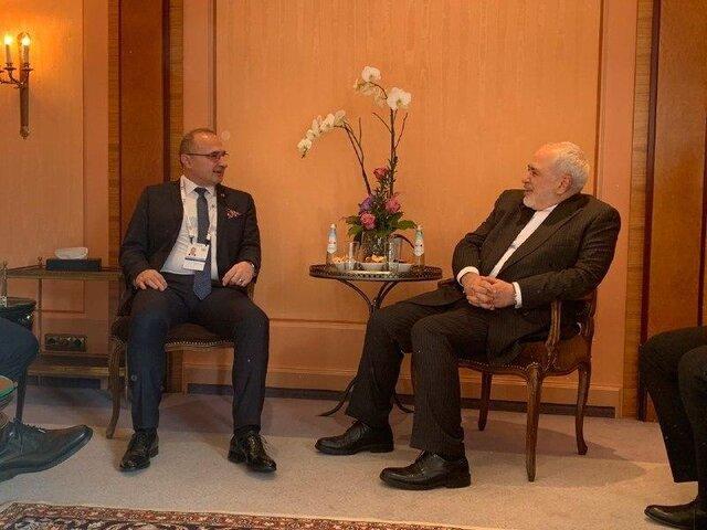 رایزنی ظریف با وزیران امور خارجه عمان و کرواسی در مونیخ