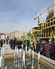 حضور انتخاباتی عارف در پروژههای شهری