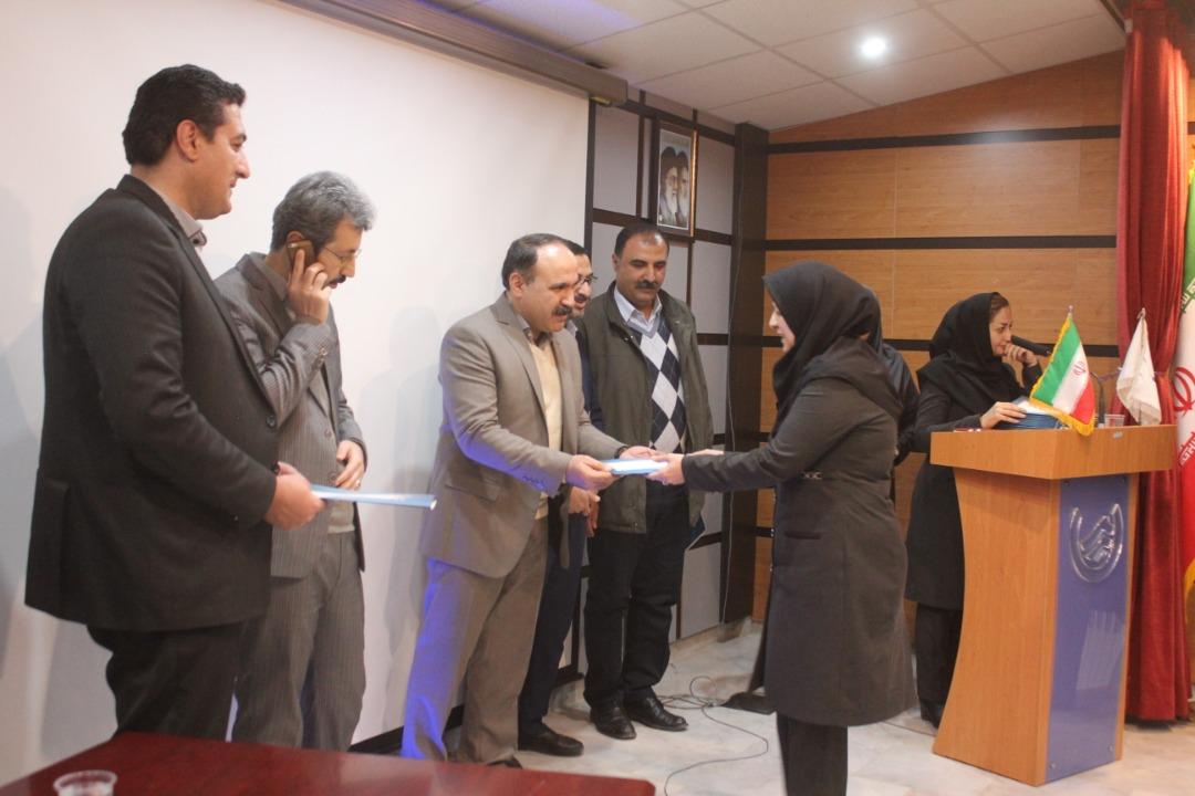 مراسم بزرگداشت روز زن ویژه همکاران شرکت آبفا کردستان برگزار شد