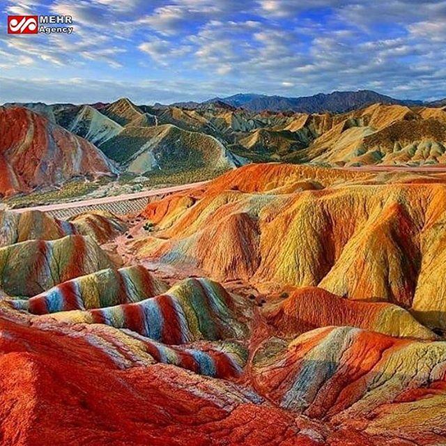 کوههای رنگی زنجان به فهرست میراث ملی پیوست